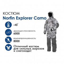 Зимний костюм Norfin Explorer Camo