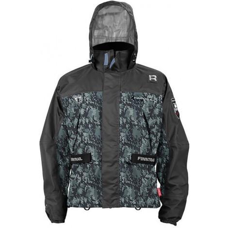 Куртка Finntrail New Mud Way, camo gray