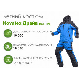 Летний костюм Novatex Драйв, синий