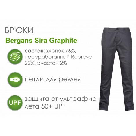 Брюки Bergans Sira, Graphite