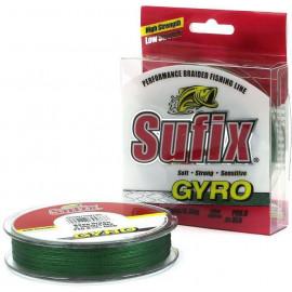 Леска плетеная GYRO Braid зеленая 135м 0.12мм 6.5кг