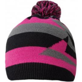 Водонепроницаемая шапка DexShell, розовая с бубоном