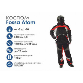 Зимний костюм Fossa Atom