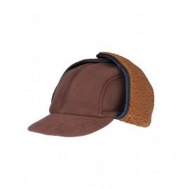Ушанка с козырьком Satila Forjy SE, коричневый