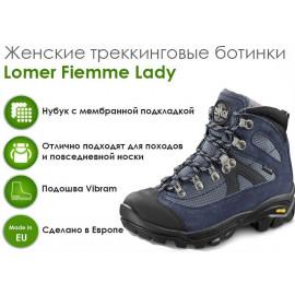 Женские трекинговые ботинки Lomer Fiemme Lady, Navy
