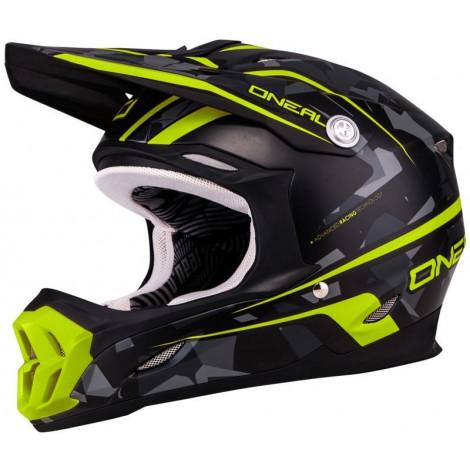 Кроссовый шлем O`Neal 7Series CAMO серый/желтый