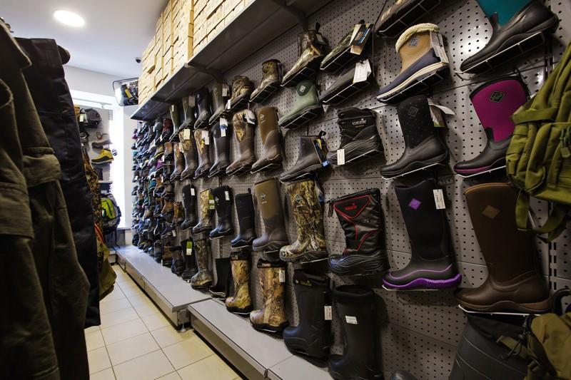 Ботинки и сапоги для отдыха на природе