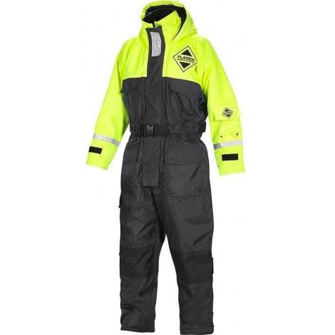 Костюм Плавающий Fladen Flotation Suit 845 Black / Yellow