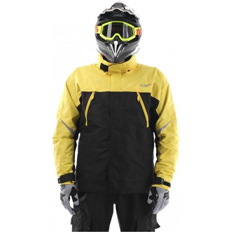 Мембранная куртка Dragonfly QUAD BLACK-YELLOW
