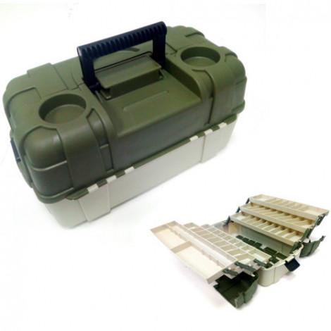 Ящик рыболовный пластиковый Salmo 6-полочный