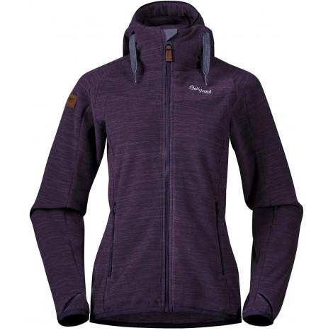 Куртка Bergans Hareid женская флисовая, PurpleVelvet Mel