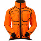 Флисовая куртка BERGANS Rana Reversible Jacket , Dk Olive/NeonOrange