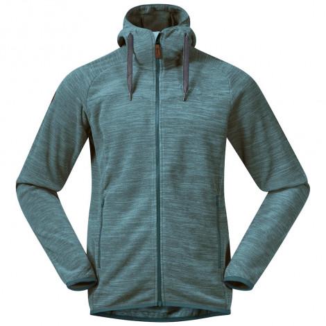 Флисовая куртка BERGANS Hareid Fleece Jacke, Dark Navy Melange