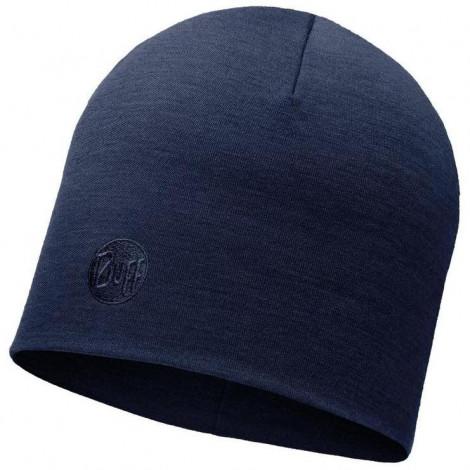 Шапка Buff Heavyweight Merino Wool Hat Solid Denim