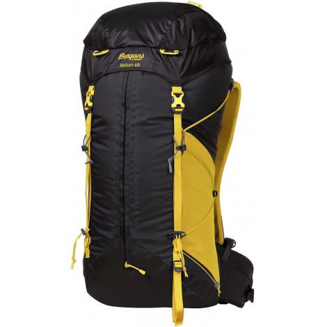 Рюкзак BERGANS Helium 55 L, SolidCharcoal/WaxedYellow