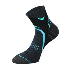 Носки Comodo RUN 2-02, black-turquoise