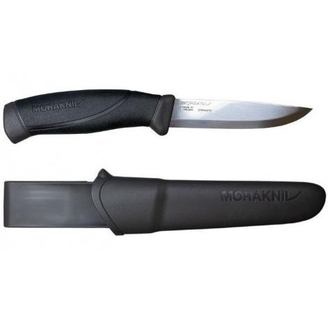 Нож Morakniv Companion Anthracite, нержавеющая сталь