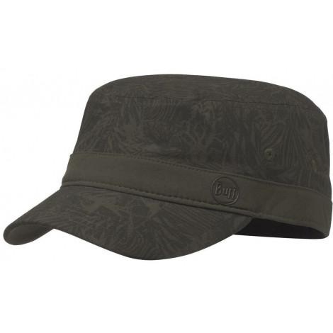 Кепка Buff MILITARY CAP CHECKBOARD MOSS GREEN S/M
