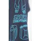Футболка Dragonfly с принтом Snow MAN (синий)