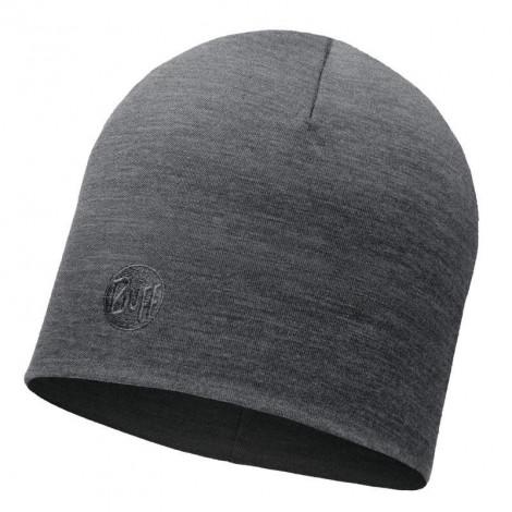 Шапка Buff Heavyweight Merino Wool Hat Solid Grey