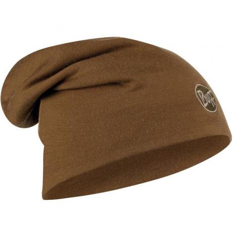 Шапка Buff Heavyweight Merino Wool Hat Tundra Khaki