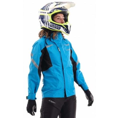 Куртка - дождевик Dragonfly EVO BLUE (мембрана)