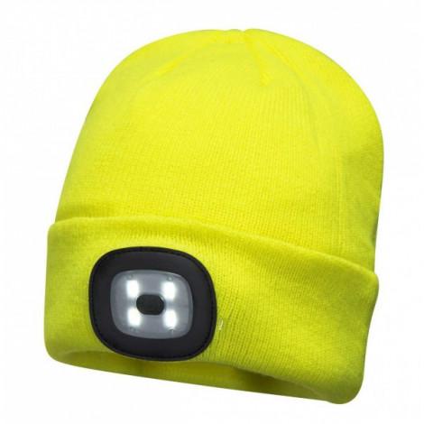 Шапка сигнальная Portwest B029 (желтый)