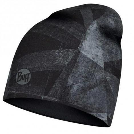 Шапка Buff Microfiber & Polar Hat Geoline Grey