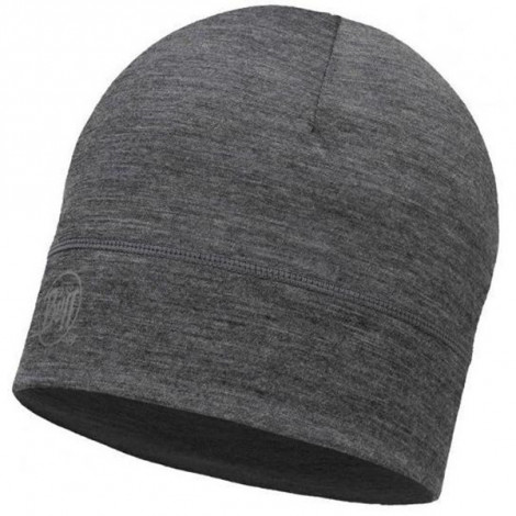 Шапка Buff Lightweight Merino Wool Hat Solid Grey