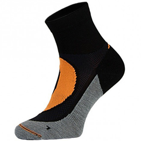 Носки Comodo RUN4 -01, black-orange