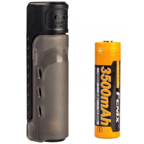 Набор зарядное устройство+аккумулятор на 18650 Fenix 3500U mAh Fenix ARE-X11 NEW