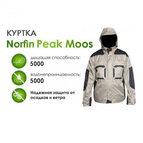 Демисезонная куртка Norfin Peak Moos