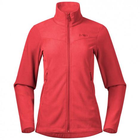 Женская флисовая куртка Bergans Finnsnes Fleece, светло-красный