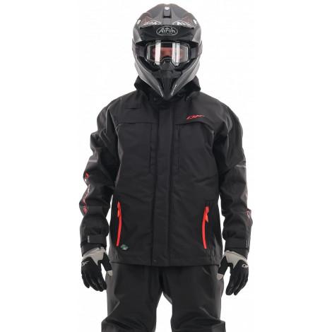 Мембранная куртка Dragonfly QUAD PRO BLACK 2021