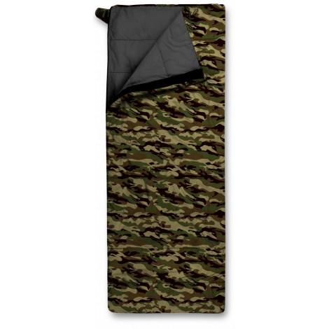 Спальный мешок Trimm TRAVEL, камуфляж, 185 R
