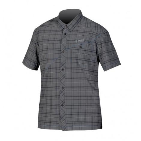 Рубашка Direct Alpine RAY с ультрафиолетовой защитой, black/grey