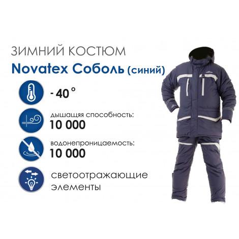 Зимний костюм NOVATEX Соболь, синий