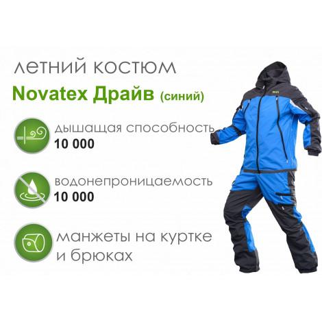 Летний костюм Novatex Драйв (нейлон, синий)