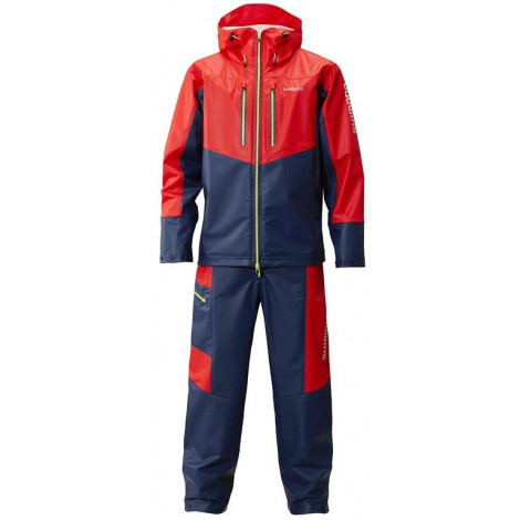 Костюм Shimano Marine Light Suit, красно-синий