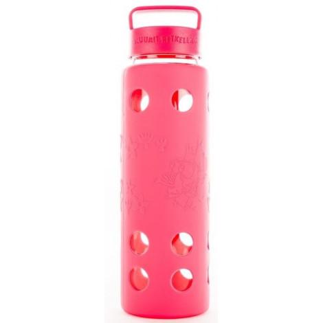 Бутылка Muumit Retkella 0,68л, розовая