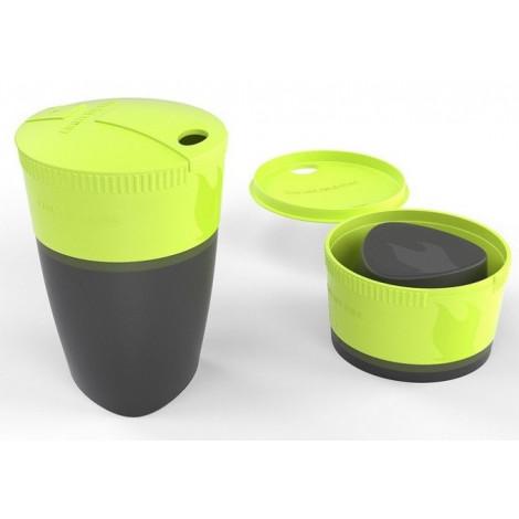 Кружка складная Pack-up-Cup, лайм