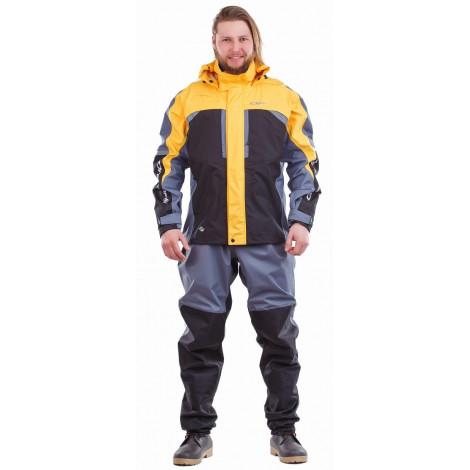 Мембранная куртка Dragonfly QUAD PRO YELLOW-GREY 2018