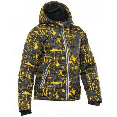 Детская куртка NOVATEX Мегаполис Зима, желтый
