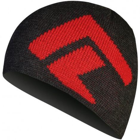 Шапка Direct Alpine KAMENY anthracite/red