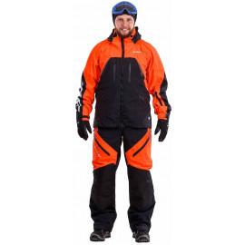 Куртка мужская DragonFly Sport 2019 Black-Orange