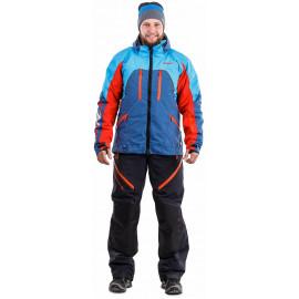 Куртка мужская DragonFly Sport 2019 Blue-Red