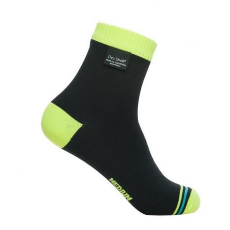 Водонепроницаемые носки DexShell Ultralite Biking Hi-vis Yellow