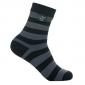 Носки водонепроницаемые Dexshell Ultralite Bamboo Black grey stripe