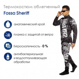 Термокостюм облегченный Fossa Sheriff