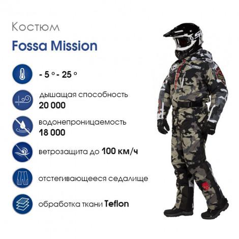 Зимний облегченный комбинезон Fossa Mission